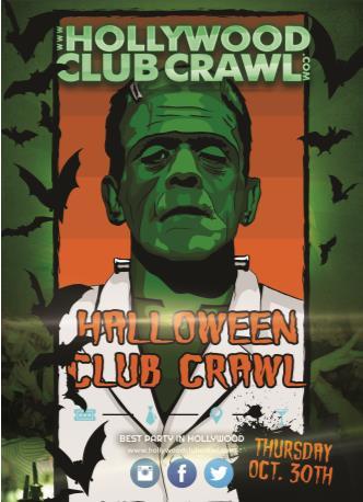 Pre - Halloween Club Crawl