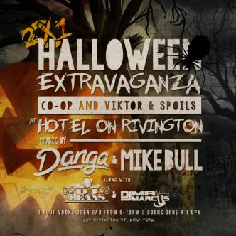 Halloween @ Hotel on Rivington