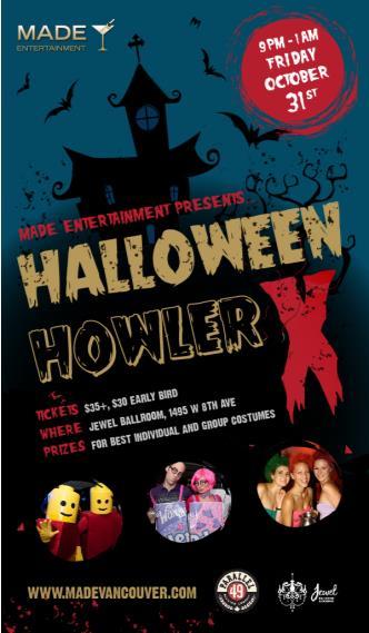 MADE Halloween Howler X