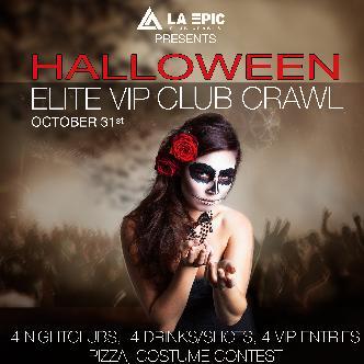 Platinum Halloween Club Crawl