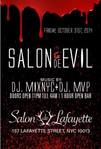 Salon de Lafayette Halloween