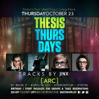 Thesis Thursday @ Arc-img