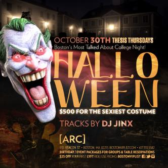Thesis Halloween Special @ Arc-img