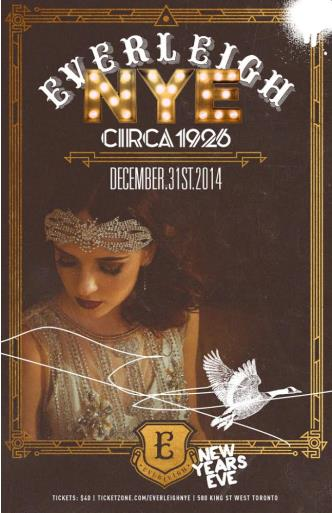 CIRCA 1926 NYE 14 at EVERLEIGH
