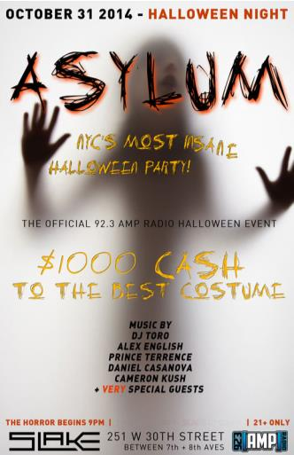 Asylum Halloween Party
