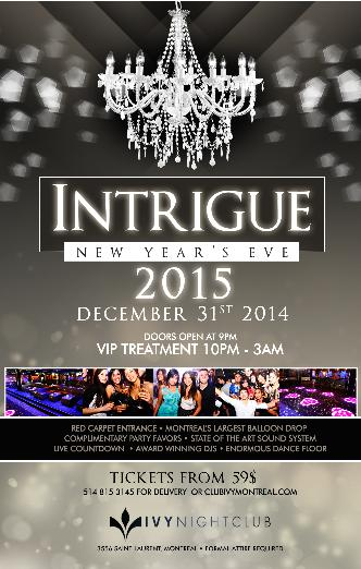 IVY NIGHT CLUB - OPEN BAR NYE!