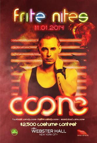Coone @ Webster Hall