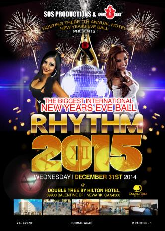 International NYE Rhythm 2015