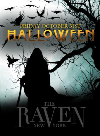 Raven NYC & Gans 55 Halloween