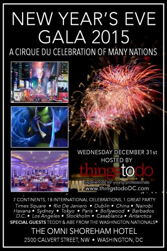 Cirque du 2015 New Years Gala