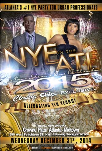 NYE in the ATL 2015