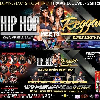 HipHop Meets Reggae | CLUB 77