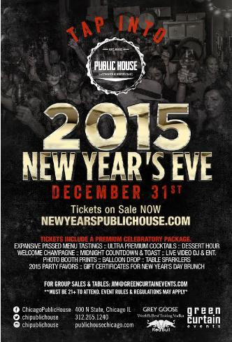 New Years Eve at Public House
