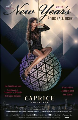 The Ball Drop NYE Caprice 2015