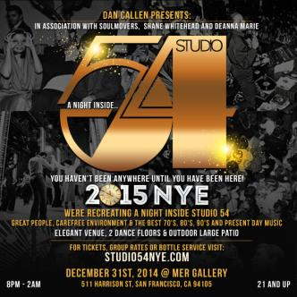 Studio 54 New Years Eve