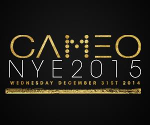NYE 2015 at CAMEO Nightclub