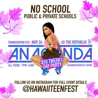 Anaconda $10 Twerky Day Party-img