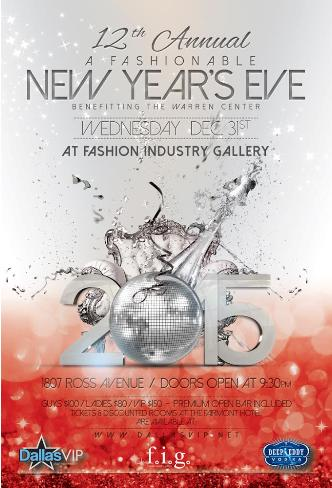 A Fashionable New Years Eve