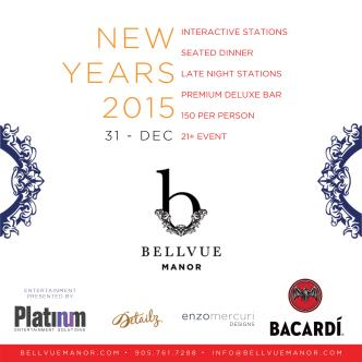 Bellvue Manor New Years Eve