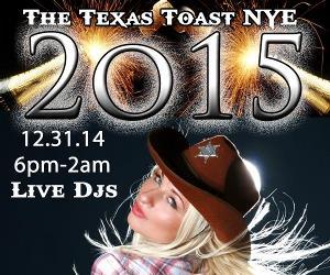 Texas Toast III NYE 2015