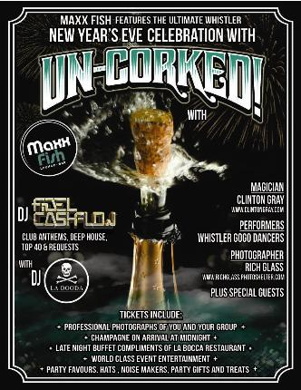 Uncorked! New Year's Eve 2015