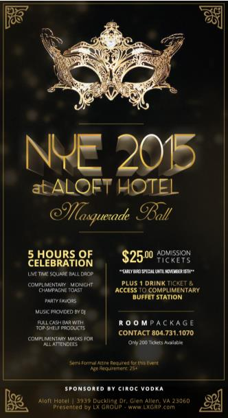 3RD ANNUAL CIRQUE NEW YEAR'S EVE