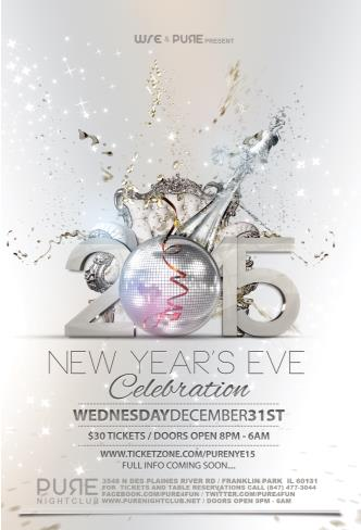 2015 NYE CELEBRATION