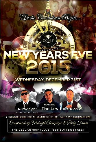 New Years Eve 2015 | Cellar SF