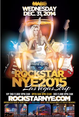 Rock Star NYE @ Hard Rock Live