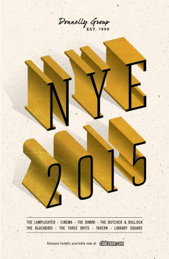 NYE 2015 at THE LAMPLIGHTER