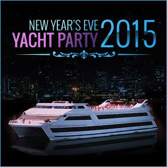 NYE Yacht Party 2015
