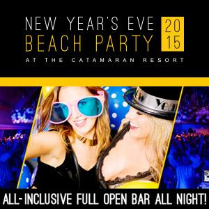 NYE Beach Party 2015