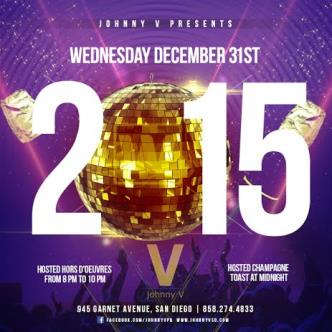 Johnny V New Years Eve 2015