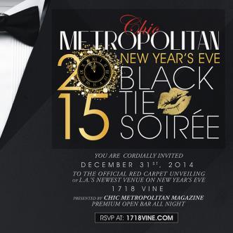 Black Tie Soiree NYE 2015
