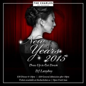 THE CHARLES BAR NYE 2015