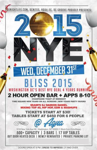 BLISS - A New Years Eve