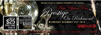 NYE Prestige On Richmond