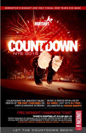 Countdown NYE 2015