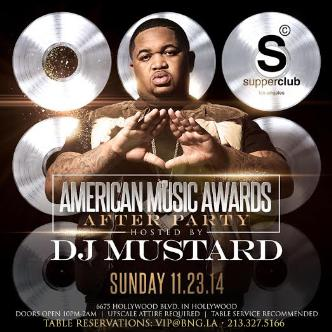 AMA's AFTER PARTY w/DJ MUSTARD-img