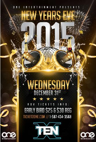 HIP HOP New Years Eve 2015