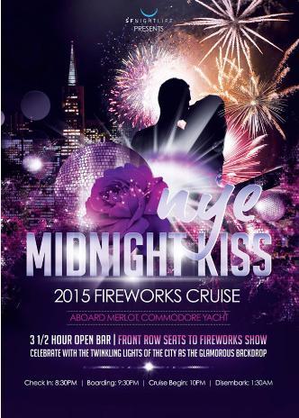 MIDNIGHT KISS FIREWORKS CRUIS