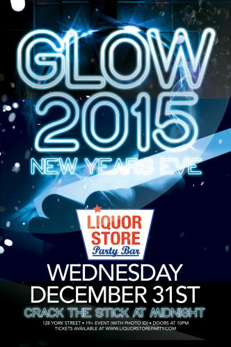 Glow 2015 New Years Eve