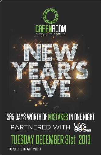 Go GREEN for 2015 NYE