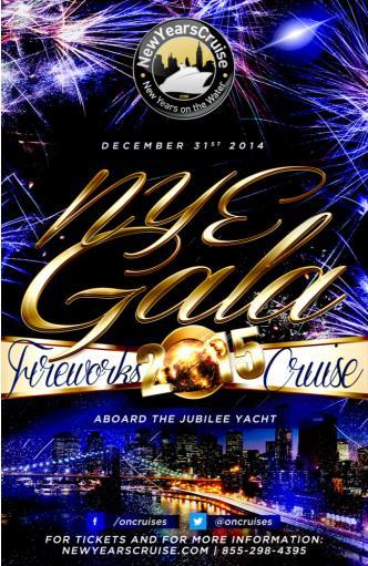 NYE Fireworks Gala - Jubilee