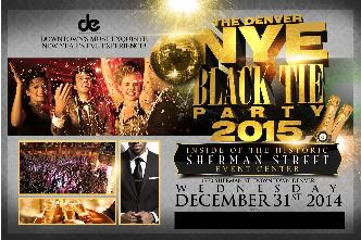 NYE Black Tie Party 2015