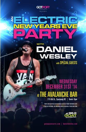 DANIEL WESLEY - December 31st