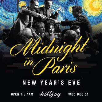 Midnight In Paris NYE 2015