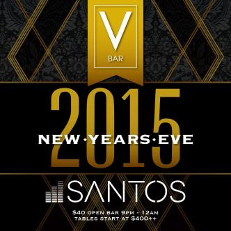 V Bar NYE 2015