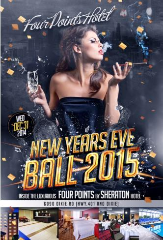 FOUR POINTS NEW YEARS EVE BALL