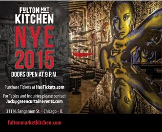 NYE at Fulton Market Kitchen